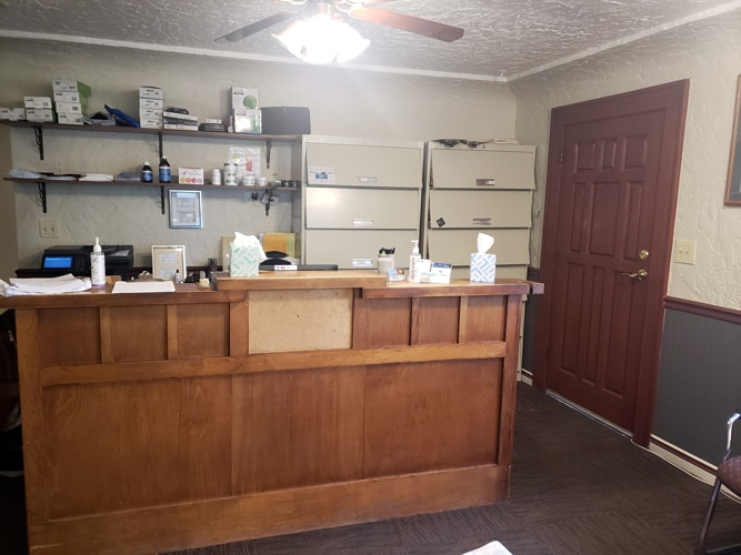 Front Desk at Skagit River Chiropractic