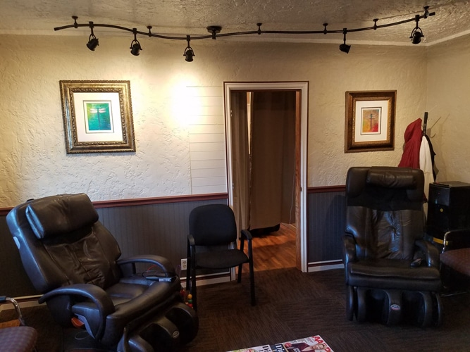 Waiting Room at Skagit River Chiropractic